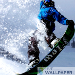 Snowboard Wallpaper - a cool phone background.