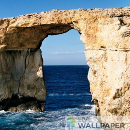 Azure Window Live Wallpaper - a cool phone background.