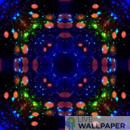 Mandala Live Wallpaper - a cool phone background.
