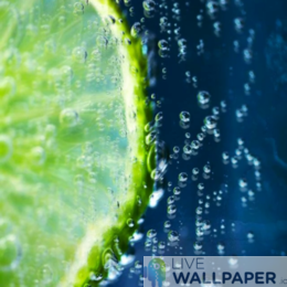 Lime Wallpaper - a cool phone background.
