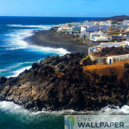 Lanzarote Island Wallpaper - a cool phone background.