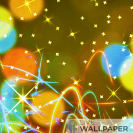 Gold Glitter Wallpaper - a cool phone background.