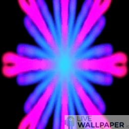 Vibrant Kaleidoscope Wallpaper - a cool phone background.