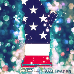 American Flag Wallpaper - a cool phone background.