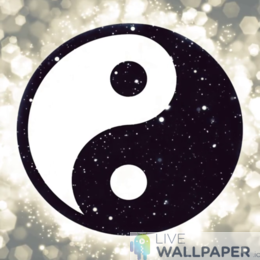 Yin Yang Live Wallpaper - a cool phone background.