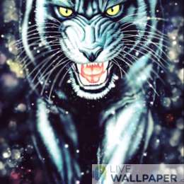 Black Panther Live Wallpaper - a cool phone background.