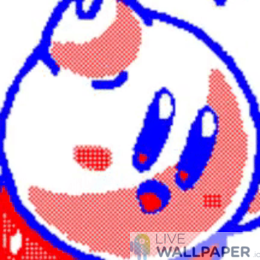 Kirby Live Wallpaper - a cool phone background.