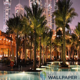 Magic Dubai Slideshow Wallpaper - a cool phone background.