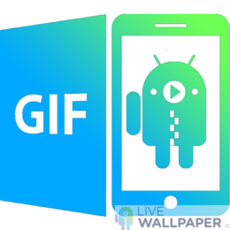 GIF Live Wallpaper - powered by Giphy - a cool phone background.