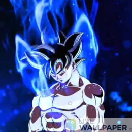 Ultra Instinct Goku Live Wallpaper - a cool phone background.