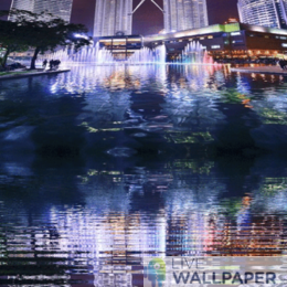 Petronas Twin Towers Live Wallpaper - a cool phone background.