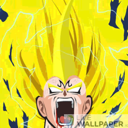 DBZ Heroes Live Wallpaper - a cool phone background.