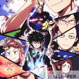 My Hero Academia Live Wallpaper - a cool phone background.