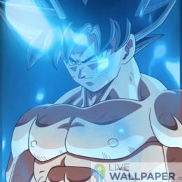 Epic Goku Live Wallpaper - a cool phone background.