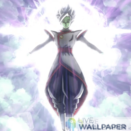 Zamasu Fused Live Wallpaper - a cool phone background.