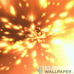 Hyperspace Live Wallpaper - a cool phone background.