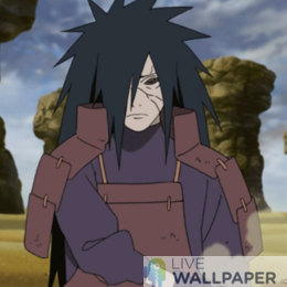 Madara Live Wallpaper - a cool phone background.