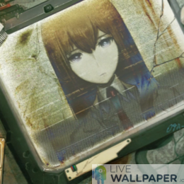 Steins Gate 0 Live Wallpaper - a cool phone background.