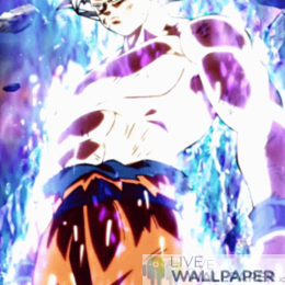 Goku Ultra Instinto Live Wallpaper - a cool phone background.