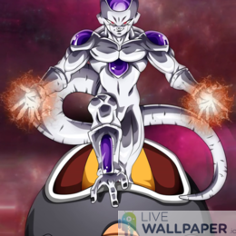 Majestic Frieza Live Wallpaper - a cool phone background.