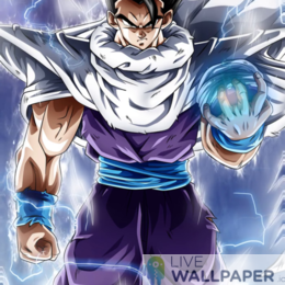 Ultimate Gohan Live Wallpaper - a cool phone background.