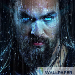 Aquaman Live Wallpaper - a cool phone background.