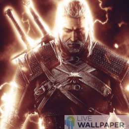 Witcher Live Wallpaper Collection - a cool phone background.