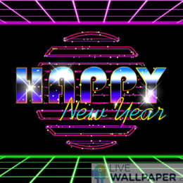Happy New Year 2020 GIF Live Wallpaper Pack - a cool phone background.