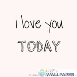 I Love You GIF Live Wallpaper Pack - a cool phone background.