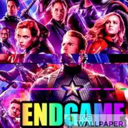 Endgame GIF Live Wallpaper Pack - a cool phone background.