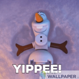 Olaf GIF Live Wallpaper Pack - a cool phone background.