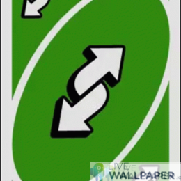 Uno Reverse Card GIF Live Wallpaper Pack - a cool phone background.