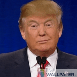 Trump GIF Live Wallpaper Pack - a cool phone background.