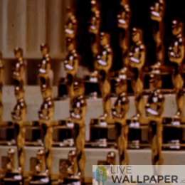 Oscars GIF Live Wallpaper Pack - a cool phone background.