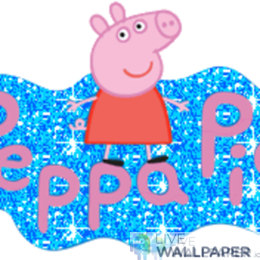 Peppa Pig GIF Live Wallpaper Pack - a cool phone background.