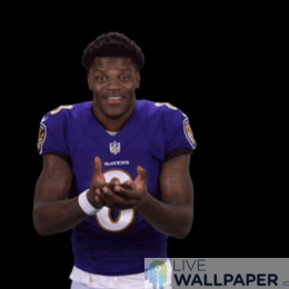 Lamar Jackson GIF Live Wallpaper Pack - a cool phone background.