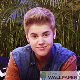 Justin Bieber GIF Live Wallpaper Pack - a cool phone background.