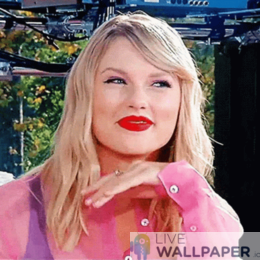 Taylor Swift GIF Live Wallpaper Pack - a cool phone background.