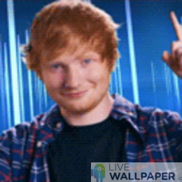 Ed Sheeran GIF Live Wallpaper Pack - a cool phone background.
