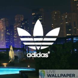 Adidas GIF Live Wallpaper Pack - a cool phone background.