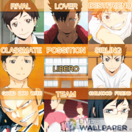 Haikyuu GIF Live Wallpaper Pack - a cool phone background.