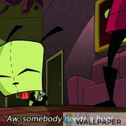 Invader Zim GIF Live Wallpaper Pack - a cool phone background.