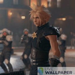 Final Fantasy 7 Remake GIF Live Wallpaper Pack - a cool phone background.