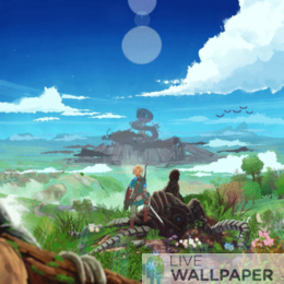 Legend of Zelda Botw GIF Live Wallpaper Pack - a cool phone background.