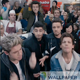 One Direction GIF Live Wallpaper Pack - a cool phone background.