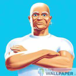 Mr Clean GIF Live Wallpaper Pack - a cool phone background.
