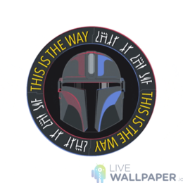 Mandalorian GIF Live Wallpaper Pack - a cool phone background.