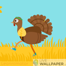 Thanksgiving GIF Live Wallpaper Pack - a cool phone background.