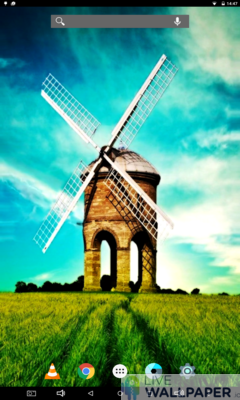 Calming Country Windmill Live Wallpaper - a cool phone wallpaper for Android - Screenshot #3