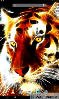 Tiger Wallpaper - a cool phone wallpaper for Android - Screenshot #2